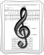 Ноты для песни «Косилка, молотилка»
