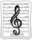 Ноты для песни «Зәлифәкәй»