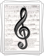 Ноты для песни «Әниемә хат»