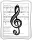 Ноты для песни «Аслаев»