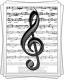 Ноты для песни «Ишкәкче җыры»